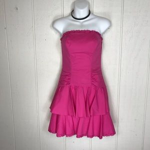 Adorable Pink Betsey Johnson dress size 2